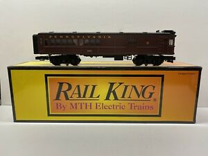 MTH Rail King 30-2158-1 Pennsylvania PRR #4666 Doodlebug Diesel Engine NO MOTOR