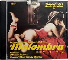 MALOMBRA - CD Soundtrack OST - Michele Zanoni & Guido e Maurizio De Angelis