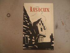 """Ancien guide """" LISEUX """" L.LIBERGE-F.COTTIN """" Les Amis du Vieux LISIEUX """" 1946"""