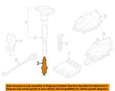 AUDI OEM 13-18 S6 4.0L-V8 Ignition-Spark Plug 06K905601M
