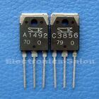 2SA1492 & 2SC3856 Original SANKEN Transistor, x 2 PCS