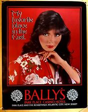 BALLY'S PARK PLACE CASINO HOTEL Atlantic City NJ Poster FAVORITE PLACE IN EAST
