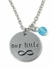 925 Silver Plt 'Our Little Infinity' The Fault In Our Stars Necklace Love A