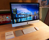 "iMac 27"" Intel 3.4ghz i7, 256GB SSD+1TB HD+DVD, 16GB RAM, Excellent Condition!"