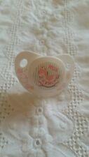 NUK ♡ cheval à bascule ♡ Blanc & Rose magnétique mannequin ~ Sucettes ~ bébé reborn poupée