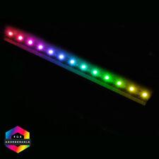More details for cit argb magnetic 13 x led, 3 pin, 30cm strip light for cit raider cases