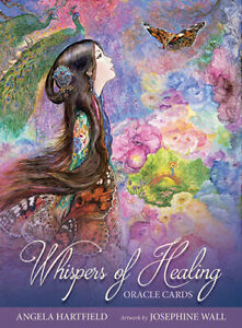 Whispers of Healing Oracle Cards Angela Hartfield & Josephine Wall 9781925538267