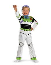 "Buzz Lightyear Kids Classic Costume, Medium, Age 7 - 8, HEIGHT 4' - 4' 3"""