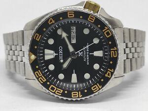 SEIKO DIVER 7S26-0020 SKX007 BLACK PROSPEX AUTOMATIC WATCH 685343