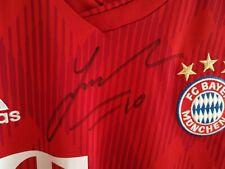 Adidas Trikot FC Bayern München signiert 2018/2019 James mit Autogramm FCB NEU
