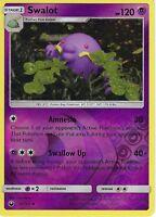 Pokemon SM Celestial Storm Card: Swalot - 58/168 - Reverse Holo