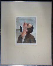 Roland Topor Amnesty International Offset Lithograph 67 of 100 Signed Framed