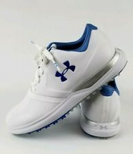 UNDER ARMOUR WOMEN PERFORMANCE SPIKELESS GOLF WHITE SHOES SIZE 7