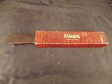 Straight razor strop strap Allegro made in Switzerland vintage men's grooming
