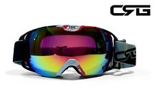 CRG Ski Snow Snowboard ANTI-FOG DOUBLE LENS TRIPLE-LAYER FOAM Goggles CRG80-4A