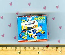 Dollhouse miniature Size  toy Jetport Box