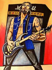 DAVE NAVARRO PAINTING jane's addiction panic channel chili peppers cd lp guitar