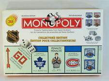 Monopoly NHL Collector's Edition 1999 Hasbro 100% Complete Bilingual Near Mint