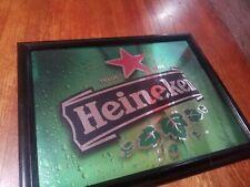 Heineken Beer Bar Mirror Rare Authentic Design Vintage (Advanced Mirror Design)