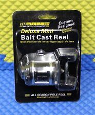 HT Enterprises Deluxe Mini Bait Cast Reel Right or Left Handed MBR-2