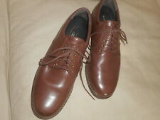AETREX  MEN'S   BROWN  LEATHER  LACE UP  OXFORDS  10  M