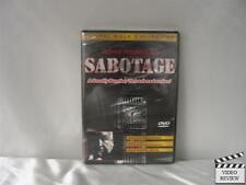 Sabotage DVD Brand New Alfred Hitchcock