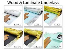 Wood / Laminate Flooring Underlay - Sonic Gold - Acoustic - Silver - XPS, Vapour