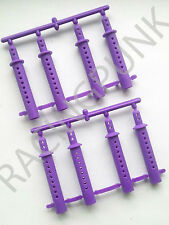 1/10 RC Car Buggy 190mm 200mm Bodyshell Body Shell Clips 6mm Extension Post PURP