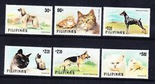 PHILIPPINES 1979 SG1539/44 Cats & Dogs set of 6 superb unmounted mint. Cat £15