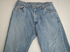 POLO Jeans Co RALPH LAUREN 34 X 30 Blue Jeans Distressed Cotton Brixton Denium
