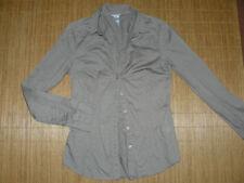 Gestreifte H&M Damenblusen, - tops & -shirts aus Baumwollmischung