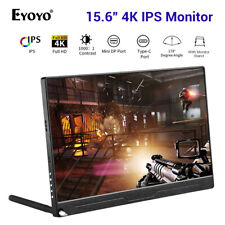 """15.6"""" 4K HDR IPS Monitor 178° Second Screen Display for Macbook PC Gaming PS3 /4"""