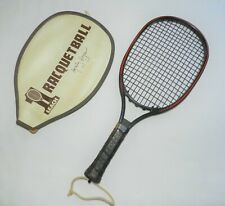 New listing Marty Hogan Leach Composite Racquetball Racquet Complete with Case, Nice