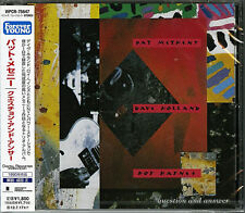 PAT METHENY-QUESTION AND ANSWER-JAPAN CD BONUS TRACK D50