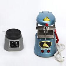 "Dental Lab Vaccum Forming Molding Machine + 4"" Round Vibrator Shaker Oscillator"