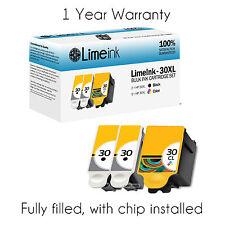 3 30XL Ink Printer Cartridges Set For Kodak ESP 310 C315 2150 2170 Hero 3.1 5.1