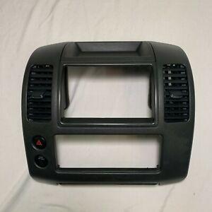 05 06 07 08 Nissan Pathfinder Xterra Center Dash Console Climate AC Heat Radio