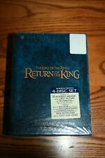 LORD OF THE RINGS RETURN OF THE KING - 4 DVD EXTENDED SET - NEW - SEALED!