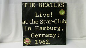 The Beatles - Live! at the Star-Club in Hamburg Germany 1962  ~ Lingasong 2 LP's