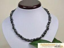 Modeschmuck-Halsketten aus Edelstein Hämatit