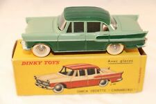 """Dinky Toys 24K Simca Vedette """"Chambord"""" (avec glaces) mint in box"""
