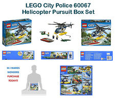 LEGO City Police 60067 - Helicopter Pursuit Box Set ** PURCHASE TODAY **