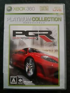 Project Gotham Racing 3 Platinum Collection Japanese Xbox 360