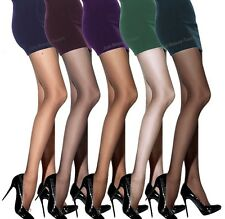 Sheer Tights 15 Denier in Various Colours Sizes M - XXL  Classic Tights new