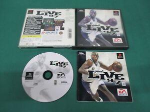PlayStation -- NBA LIVE 97-- PS1. JAPAN GAME. work. 17432