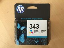 Genuine BOXED HP 343 Ink - C8766EE COLOUR (INC VAT) EXPIRY OCT 2020