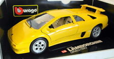 Véhicules miniatures jaunes pour Lamborghini 1:18