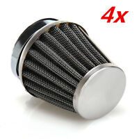 4x 52mm Motorcycle Air Filter Carburetor Pod Filter for Yamaha XJ700 MAXIM 700