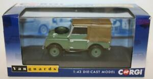 Vanguards 1/43 Scale VA11115 Land Rover Series 1 - First to be Road Registered