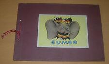 Walt Disney Dumbo De Beukelaer'S Sticker Album Complete C. 1942 Belgium